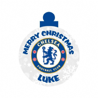 Chelsea FC Acrylic Christmas Ornament Decoration